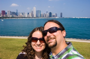 Us in Chicago 2010
