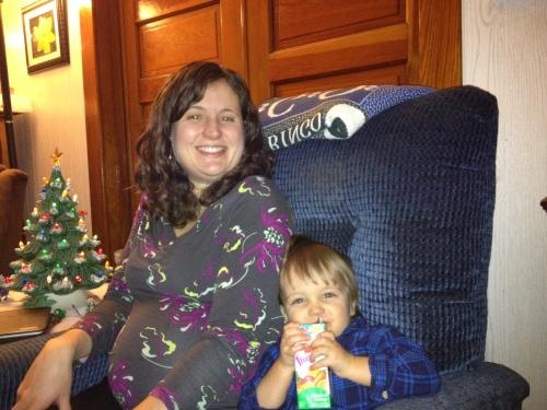 Jameson and Mom